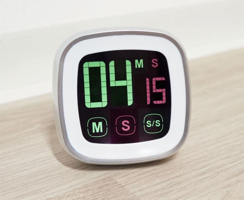 Küchentimer Timer Kurzzeitmesser Eieruhr mit Magnet und Touchscreen digital
