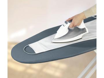 WENKO Bügelhilfe glatte Ärmel Hemden bügeln mit Magnethalter für Bügelbrett