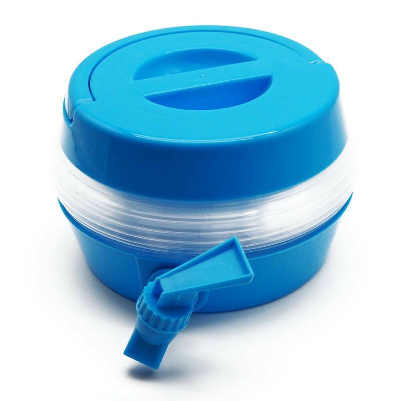 Getränkebehälter Getränkespender faltbar Wasserkanister Wasserbehälter 3,5 Liter