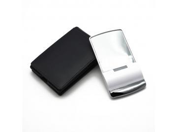 Taschenspiegel Schminkspiegel Kosmetikspiegel Reisespiegel in Aufbewahrungsetui