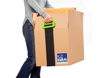 Umzugshilfe Tragehilfe Tragegurt Transport Umzugsgurt mit Griffen Kisten Möbel