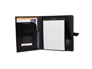 BALMAIN A5 Schreibmappe Aktenmappe Konferenzmappe Dokumentenmappe Tablet Fach
