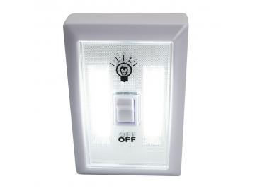 LED Klebe Leuchte Schrankleuchte mit Batteriebetrieb Möbel Lampe Nachtlicht